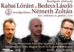 Kabai Lóránt és Bedecs László Nyitrán