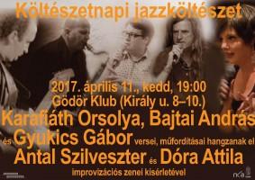 Jazzköltészet a Költészet Napján