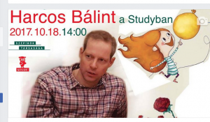 Harcos Bálint a Studyban