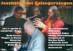 Jazzköltészet Zalaegerszegen