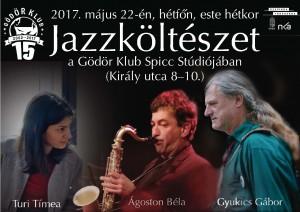 Jazzköltészet májusban