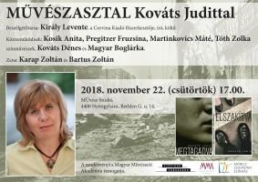 Művészasztal Kováts Judittal