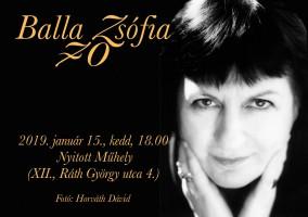 Balla Zsófia 70