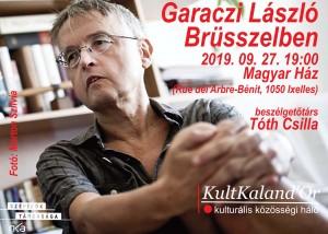 Garaczi László Brüsszelben