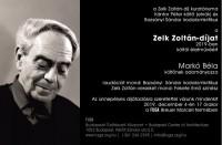 Zelk Zoltán-díj Markó Bélának
