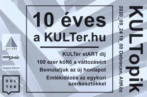 10 éves a kulter.hu