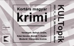 KULTopik: Kortárs magyar krimi